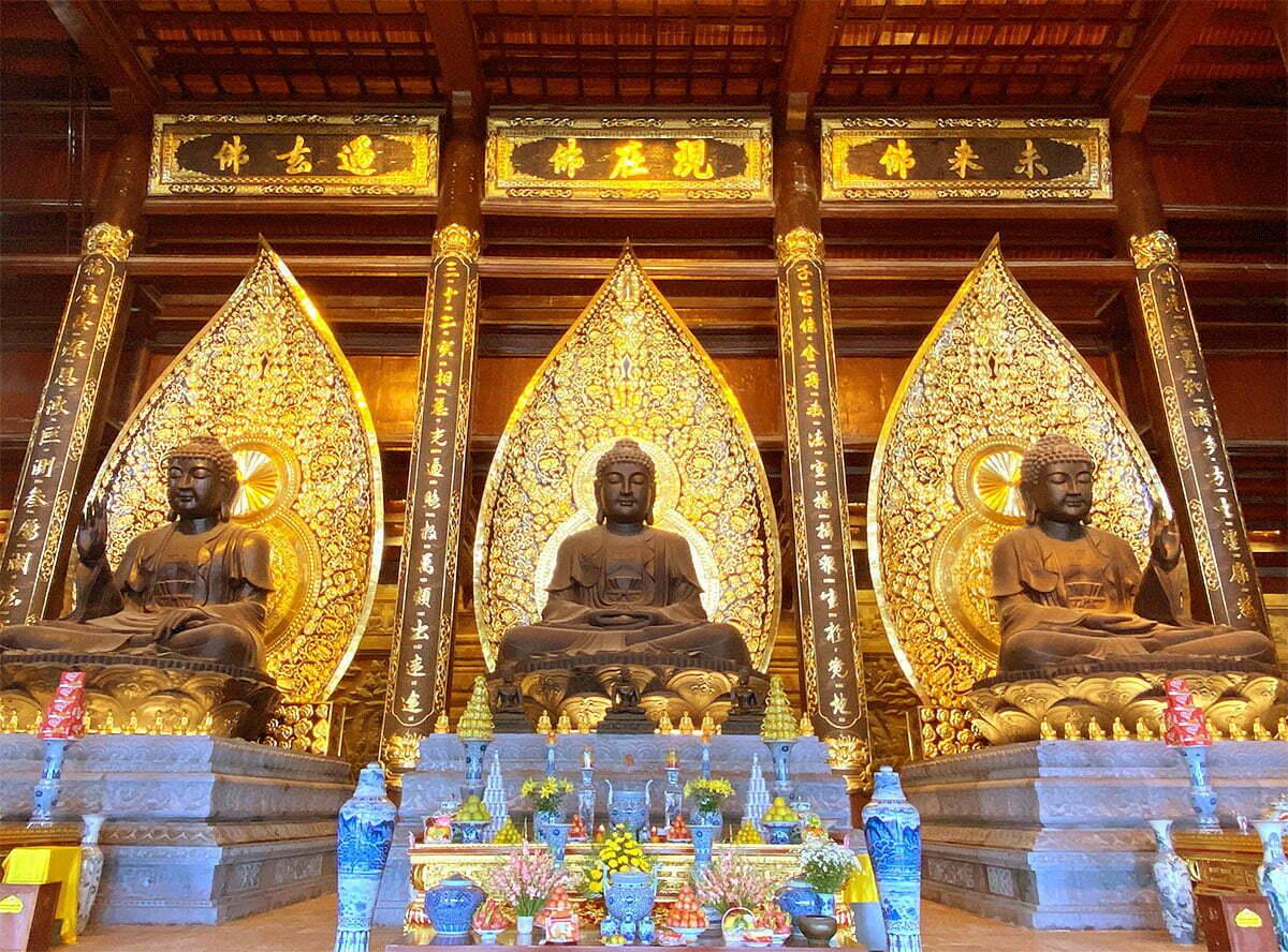 Ban Tam Bảo chùa Tam Chúc